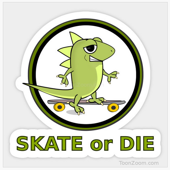 Lizard Skate or die icon