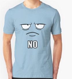 Grumpy face shirt