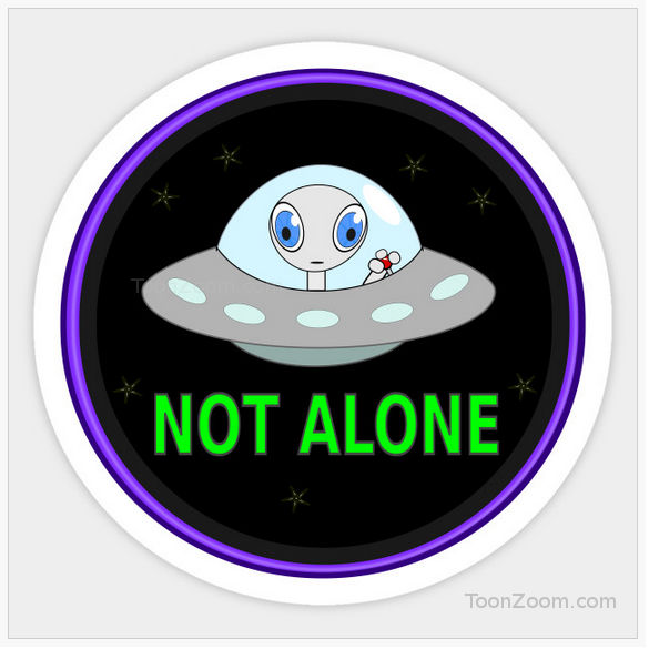 UFO alien icon
