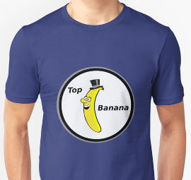 Top Banana shirt